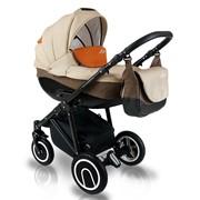Многофункциональная детская коляска BEXA LINE L301C черная рама фото