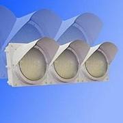 Noname Светофор трехсекционный горизонтальный 200 мм красный (не стандарт) арт. СцП23398 фото
