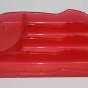 Вкладыш для столовых приборов (цв.красный) 770113 фото