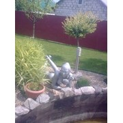 Скульптура Девушка, бассейн. фото