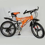 Детский велосипед MAXIMA T20-718B suspension 20 оранжевый фото
