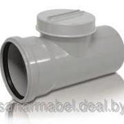 Ревизия ПП Ду 160 для внутренней канализации фото