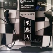 Беспроводные Bluetooth стерео наушники Sport BT-5 фото