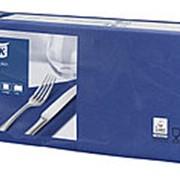 Салфетки бумажные Tork Advanced, 2-слойные 33х33, 200шт/уп, темно-синие 477215 фото