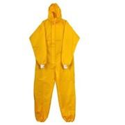 Комбинезон микропора 63 г/кв.м, закрытая молния, желтый фото