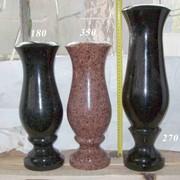 Гранитные вазы от производителя Коростышев фото