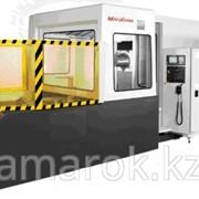 Горизонтально-фрезерный станок с чпу со сменными палетами - mh 63 фото