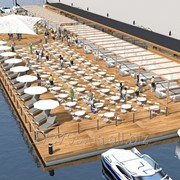 Строительство пляжных клубов фото