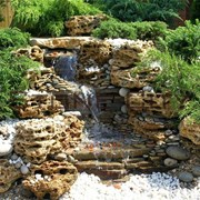 Ландшафтный камень. Травертин   фото