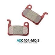 Колодка дисковая Ashima AD0104-MC-S w/spring фото