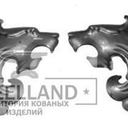 Накладки на ворота 1153 (Размер(мм): 170*180*1,5 Вес(кг): 0,48) фото