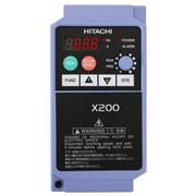 Преобразователь частоты Hitachi X200-015SFEF/1,5 квт .Защита двигателя. фото