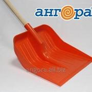 Лопата для снега с черенком *3 (Ангора) фото