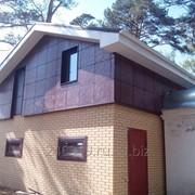 Фасадная панель с полиуретановым покрытием фото