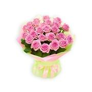 Букет цветов из голандской розы фото