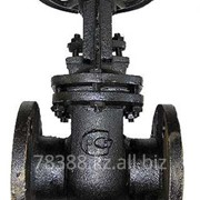 Задвижка чугунная Z44T-10 (30ч6бр) (РУ-10), Ду 100 мм, Масса 21,1 кг, Длинна 230 мм фото