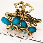 Краб (5 см.) бронзовый с цветными камнями 213276(56) фото