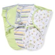 Конверт Summer Infant Конверт на липучке Swaddleme®, (3 шт.), размер S/M, , нейтральная расцветка фото