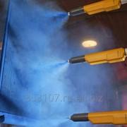 Порошковая окраска (камера покраски и линия покраски) фото