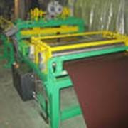 Поперечная резка рулонной стали. фото