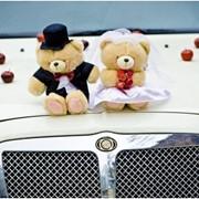Украшение свадебных автомобилей фото