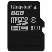 Карта памяти Kingston 8GB microSDXC Class 10 UHS-I (SDC10G2/8GBSP) фото