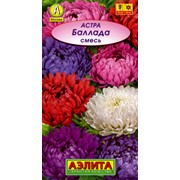 Семена цветов Астра Баллада, смесь л/п фото