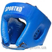 Шлем боксёрский арт. ОД1 синий фото