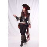 Пират Джек Воробей на день рождения в детский сад, школу, кафе фото