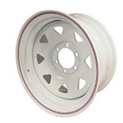 ORW ORW диск стальной 6x139.7 8х17 ET-25 d110 белый фото