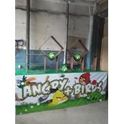Аттракцион парковый Angry Birds готовый бизнес Казахстан фото