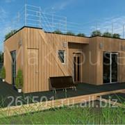 Проект дома Alnest 49м2 фото