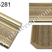 Карниз с орнаментом Frame Miga (Decor-Dizayn) 168-281 фото