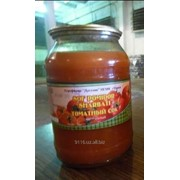 Соки натуральные томатный в стекло банка (1 и 3 литровая) фото