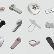 Противокражные датчики акустомагнитной технологии компании Sensormatic фото
