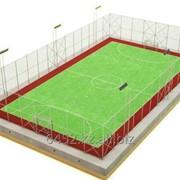 Услуги по устройству футбольных полей фото