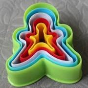 Набор форм для печенья 'Человечек', 5 шт фото