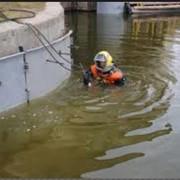 Работы подводно-технические водолазные. фото