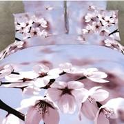Белье постельное Цветы вишни фото