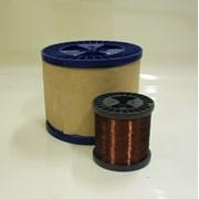 Эмальпровод обмоточный медный ПЭТ-155 0,112 мм фото