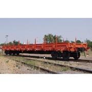 Вагон-платформа модель 13-785 фото