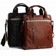 Мужской кожаный портфель M0030 фото