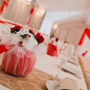 Букеты на столы гостей фото