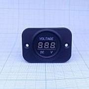 Вольтметр цифровой на панеле 5-30В фото