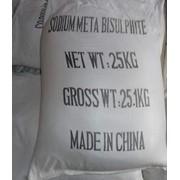 Натрий метабисульфит (Китай) фото