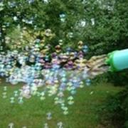 Трубка для создания большого количества маленьких пузырей фото