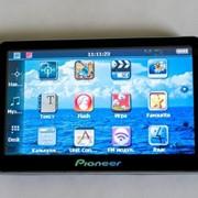 "GPS навигатор PIONEER 5"" 4GB фото"
