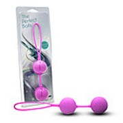 Розовые вагинальные шарики с петлёй фото