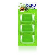 Глицериновое мыло DURU NATURAL 100гр х 3 шт (Турция) 0085 фото