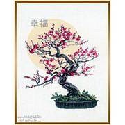 Набор для вышивания Бонсай сакура фото